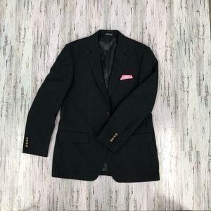 Joseph & Feiss Men's Classic Suit Jacket Black 40R